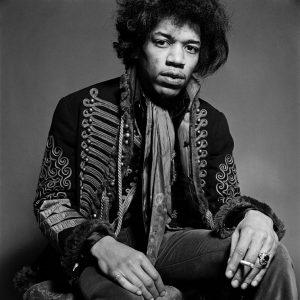 Jimi Hendrix in Five Songs